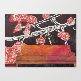 Sit Down! Canvas Print