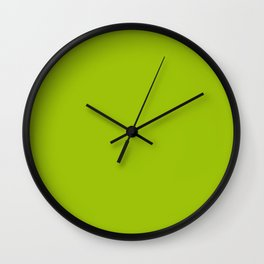 Limerick - solid color Wall Clock