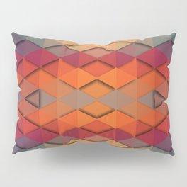 Purple On Fire Pillow Sham