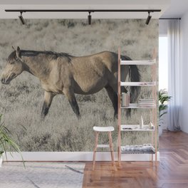 The Self-Assured Saunter of a Stallion Wall Mural