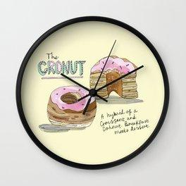 Cronut Wall Clock
