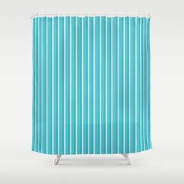 Lemoncello Striped Shower Curtain