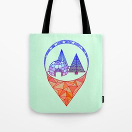icetown Tote Bag