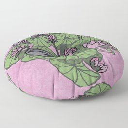 Pinky froggy. Floor Pillow