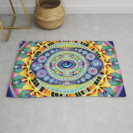 Reflections of my minds eye Rug