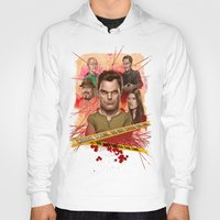 dexter Hoodies featuring Dexter by Nithin Rao Kumblekar