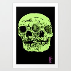 Two Faced Art Print