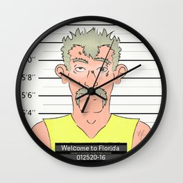 Welcome to Florida Wall Clock