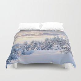 Snow Paradise Duvet Cover