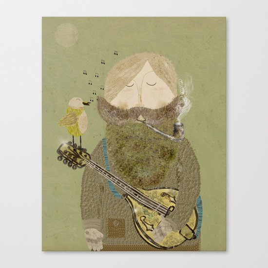 mornings song Canvas Print