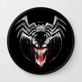 Venom Graffiti Wall Clock