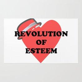 Revolution of esteem Rug