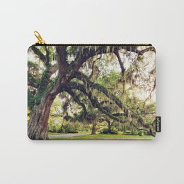Live Oak Tree with Spanish Moss Carry-All Pouch