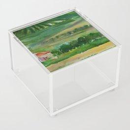 Tuscan Landscape Acrylic Box