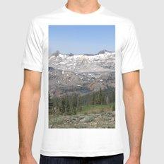 Pyramid Peak Mens Fitted Tee White MEDIUM