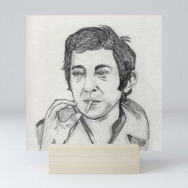 Serge Gainsbourg Mini Art Print
