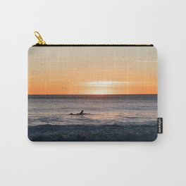 Surfer at Dusk Carry-All Pouch
