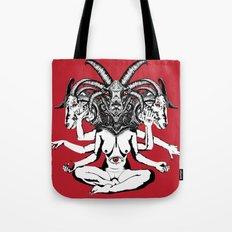 Woman is a Devil Tote Bag
