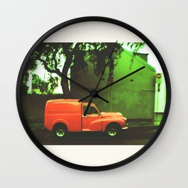 Red Car Wall Clock