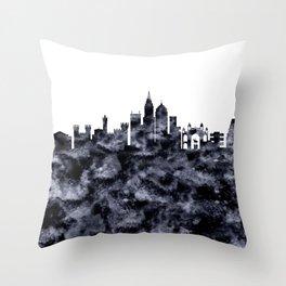 Bangalore Skyline India Throw Pillow