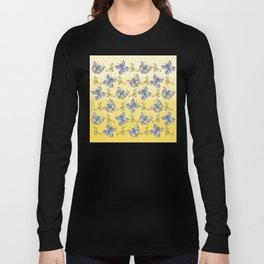 Butterflies and Flowers Long Sleeve T-shirt