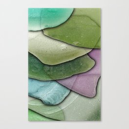 Beach Glass 02 Canvas Print