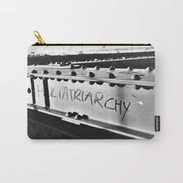 F*ck Patriarchy Graffiti on the Brooklyn Bridge Carry-All Pouch