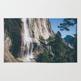 Yosemite Falls with Half Dome Rug