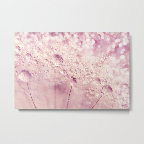 Dandy in Sparkling Pink Metal Print