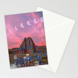 Opal Eclipse Stationery Cards