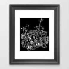 More Cowbell Framed Art Print
