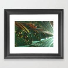 Cannon Battery (Basic) Framed Art Print