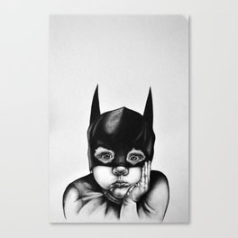 Waiting For a Hero Canvas Print