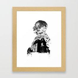 Alfred Hitchcock Framed Art Print