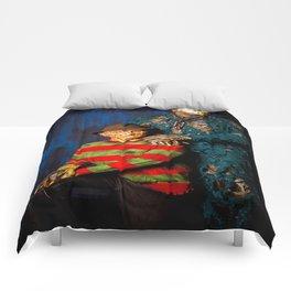 Freddy & Jason Potrait Comforters