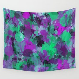 Rhapsody of colors 4. Wall Tapestry
