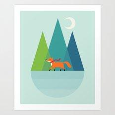 Winter Wish Art Print