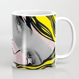 Roy Lichtenstein's Hopeless & Bette Davis Coffee Mug