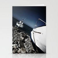 boats Stationery Cards featuring boats by zantelier