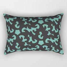 Baskerville & Pattern Rectangular Pillow