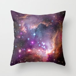 PIA16884 - Taken Under the Wing of the Small Magellanic Cloud Throw Pillow