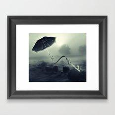 Hope Floats Away Framed Art Print