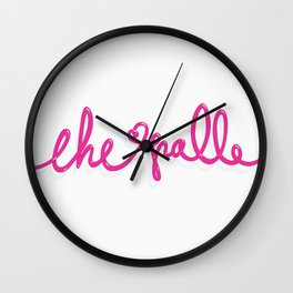 CHE PALLE Wall Clock