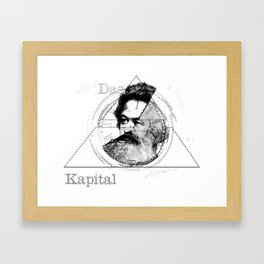 The Time of Marx Framed Art Print