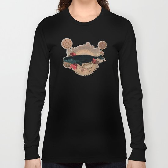 The Flying Whale Long Sleeve T-shirt