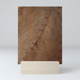 Bark Texture, Palm Bark, Primitive Mini Art Print