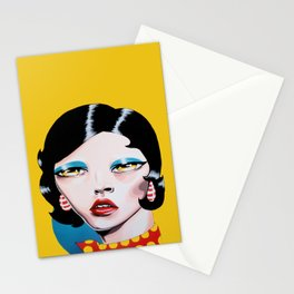 Biting My Lip Stationery Cards
