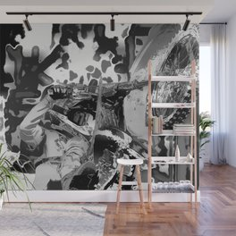 Wheel Stand - Freestyle Motocross Stunt Wall Mural