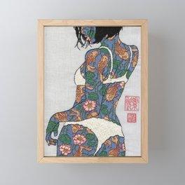 Mini Girl 02 Framed Mini Art Print