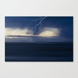 Stormy seascape Canvas Print